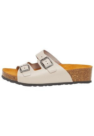 BIABETTY WEDGE BUCKLE - Slippers - brown