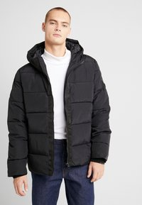 Burton Menswear London - ASPEN PUFFER - Vinterjacka - black - 0