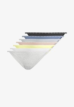 7 BRAZILIAN SLIPS MIT BANDDETAIL 32029568 - Kalhotky - multi-coloured