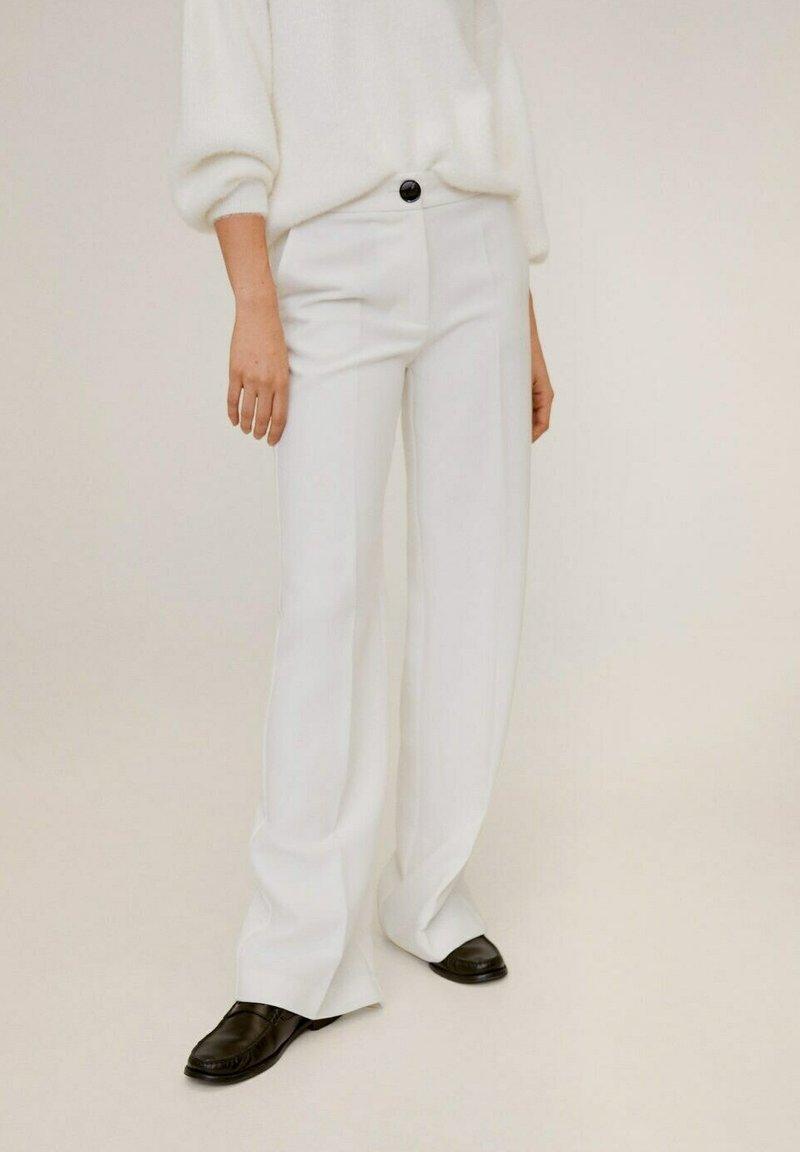 Mango - SIMON-I - Spodnie materiałowe - ecru