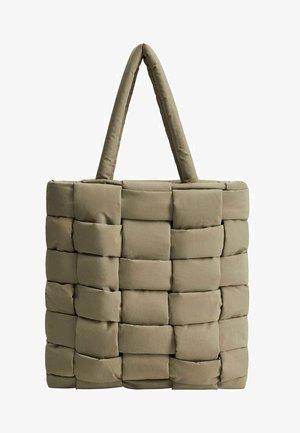 EDREDON - Tote bag - khaki