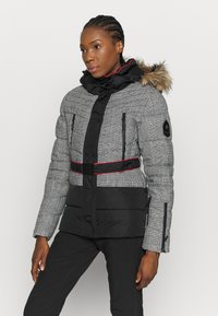 Superdry - CHAMONIX PUFFER - Ski jacket - black - 0
