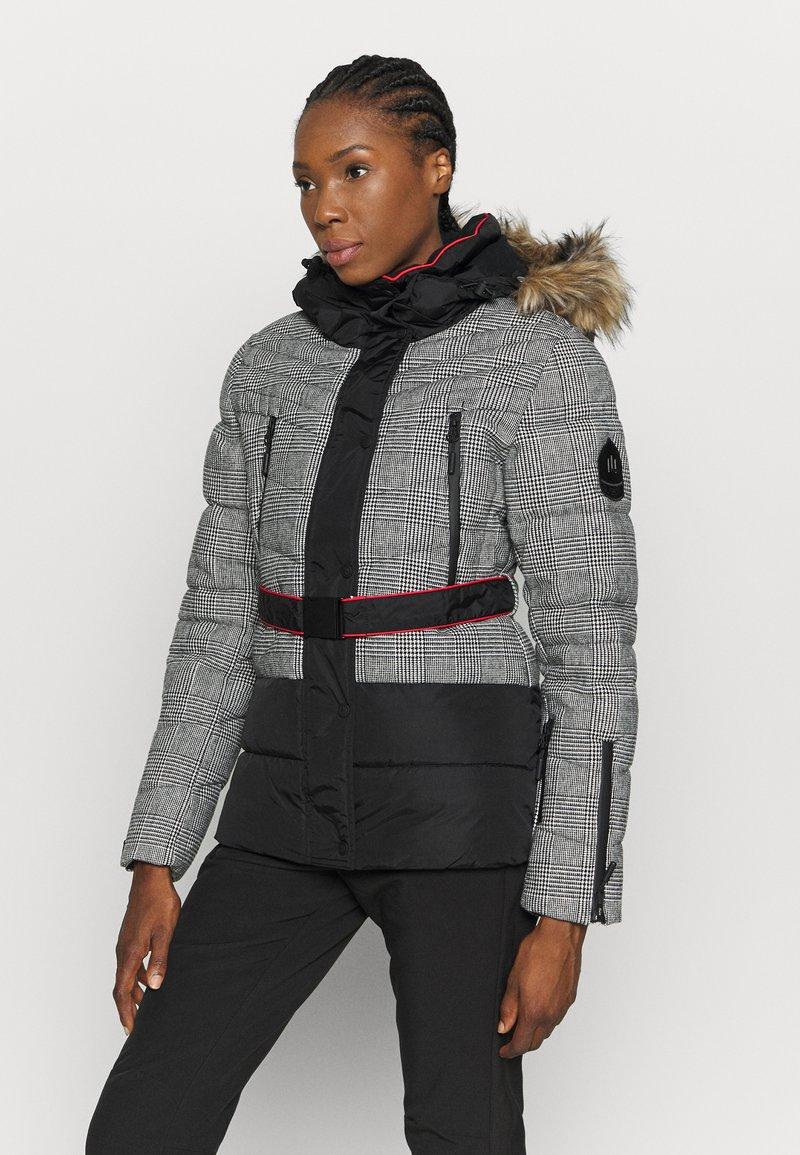 Superdry - CHAMONIX PUFFER - Ski jacket - black