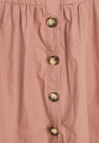 Missguided Petite - TIE CUFF SHIRT DRESS  - Shirt dress - blush - 2