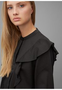 Marc O'Polo DENIM - Button-down blouse - black - 3