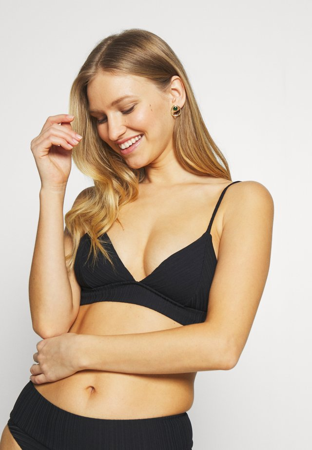 PREMIUM SURF FIXED SET - Bikini - black