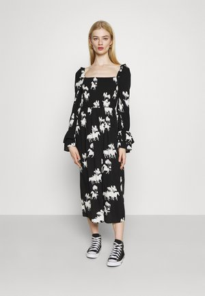FORREST DRESS - Korte jurk - black