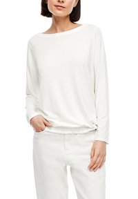 s.Oliver - Long sleeved top - cream - 3