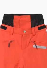 Gosoaky - BIG BAD WOLF UNISEX - Snow pants - spicy red - 2
