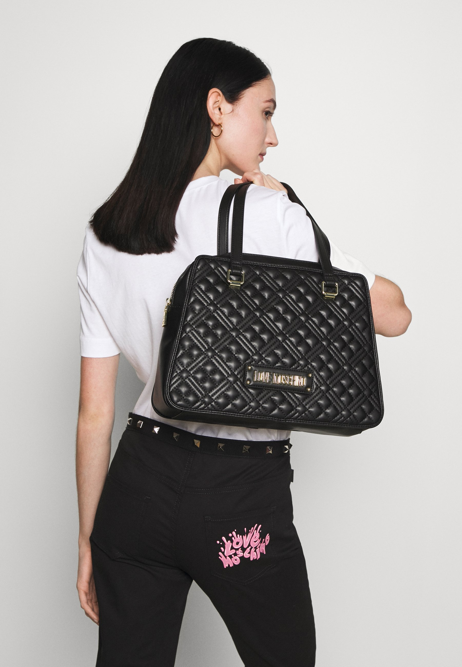 Women QUILTED SHOPPER - Tote bag