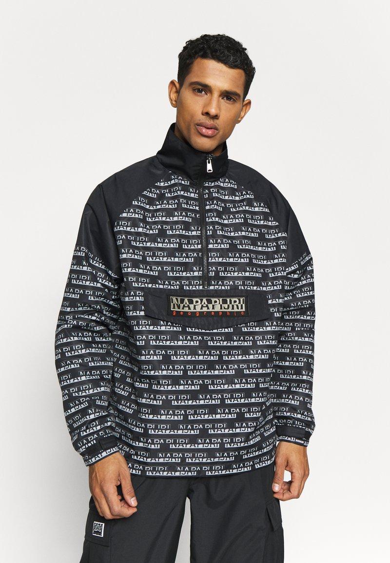 Napapijri The Tribe - ASTROS - Summer jacket - multiblack