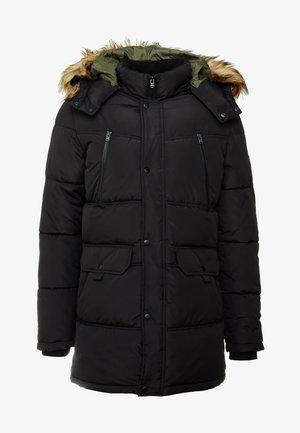 JCOMARIO PUFFER - Zimní kabát - black