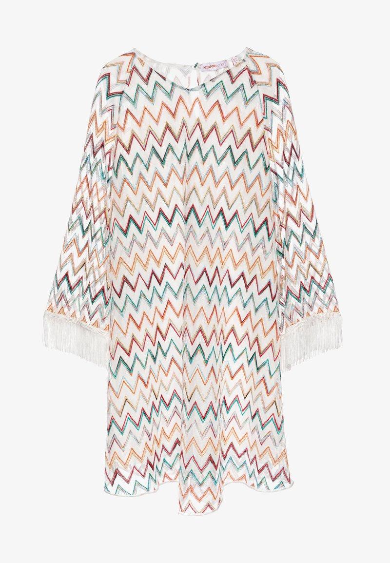Missoni Kids - DRESS - Denní šaty - white