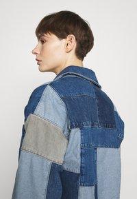 BDG Urban Outfitters - PATCHWORK OVERSHIRT - Halflange jas - denim - 3