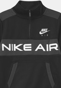 Nike Sportswear - AIR SET UNISEX - Tracksuit - black/dark smoke grey/white - 3