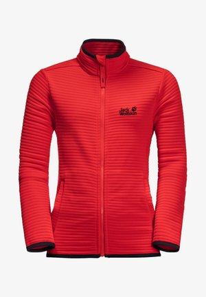 MODESTO - Fleece jacket - peak red