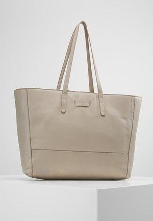 SHOPPER - Tote bag - string grey