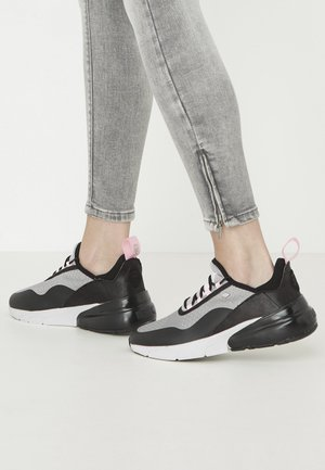 VALEN - Trainers - black/grey/pink