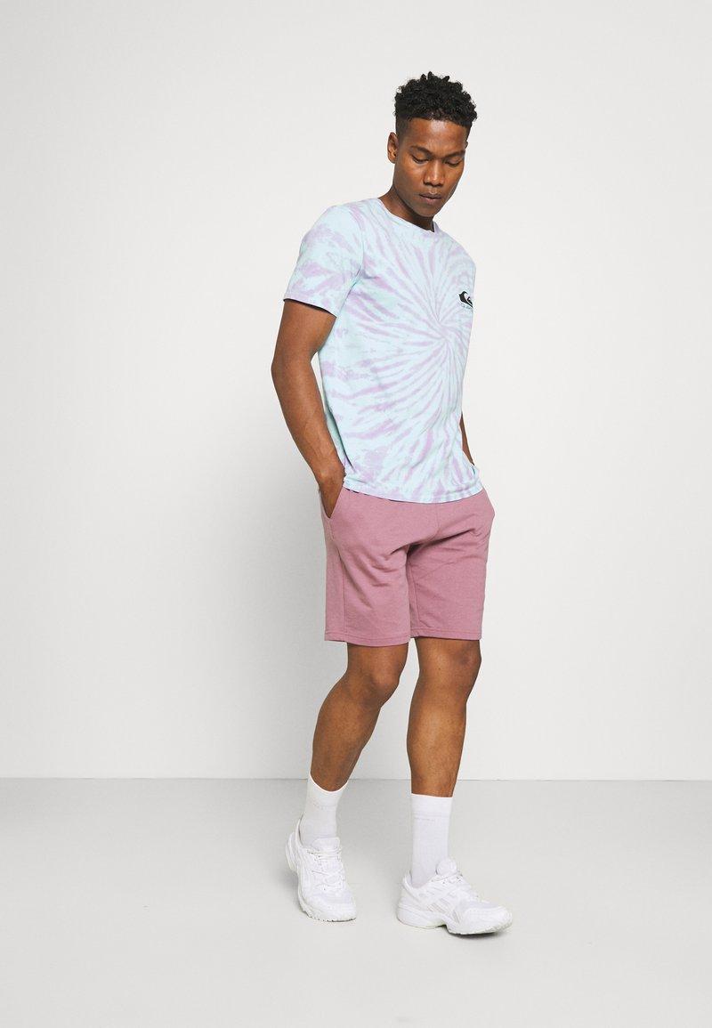 CLOSURE London - SCRIPT 2 PACK  - Spodnie treningowe - greymarl/rose