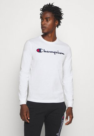 ROCHESTER CREWNECK LONG SLEEVE - Long sleeved top - white