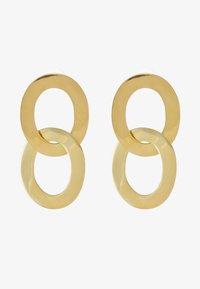 Soko - MAXI LINKED DROP EARRINGS - Oorbellen - gold-coloured - 3