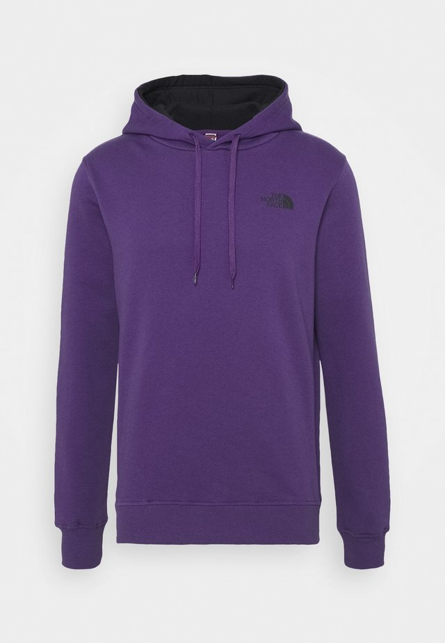 SEASONAL DREW PEAK - Hoodie - peak purple