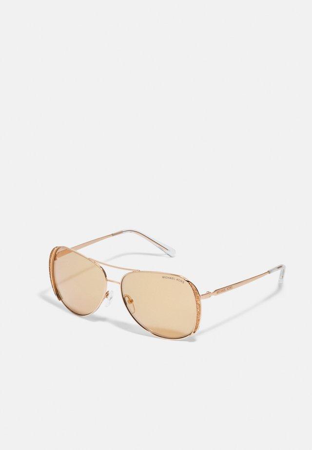 Sluneční brýle - rose gold