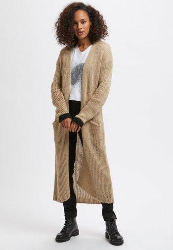 KAMERLA - Short coat - w. black lurex