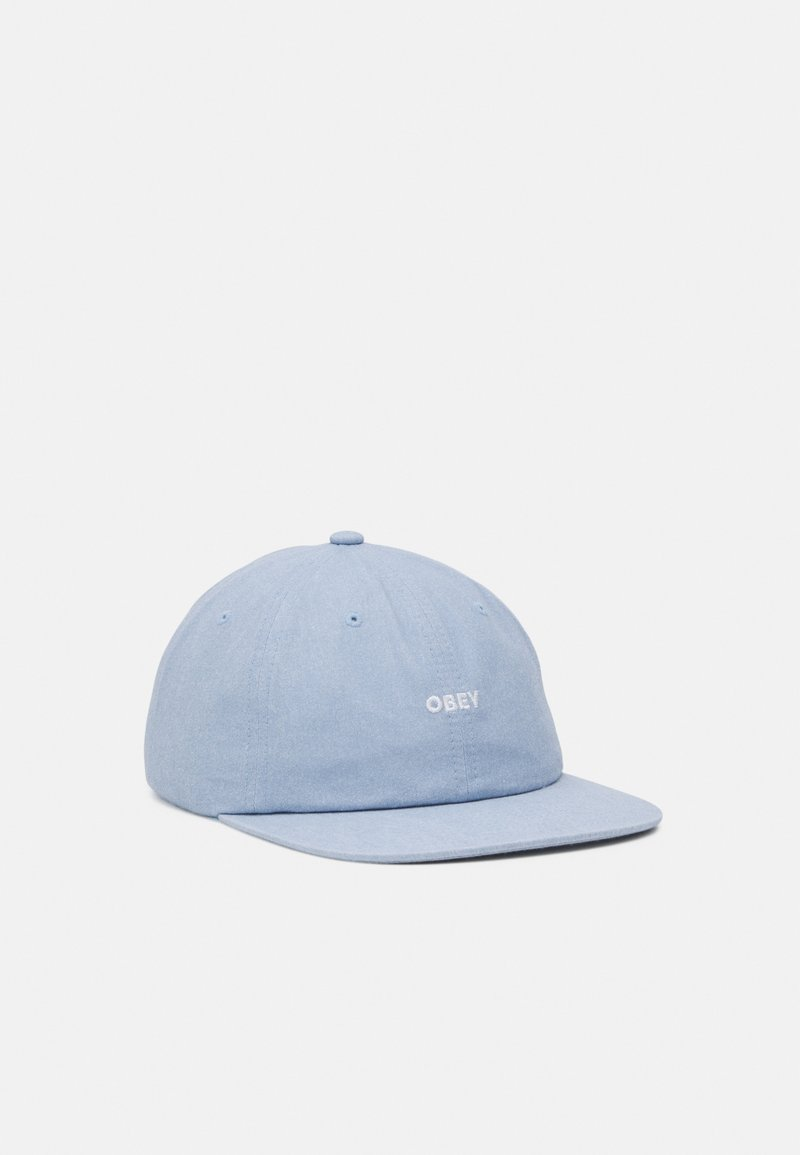 Obey Clothing - PIGMENT PANEL STRAPBACK UNISEX - Cap - light blue