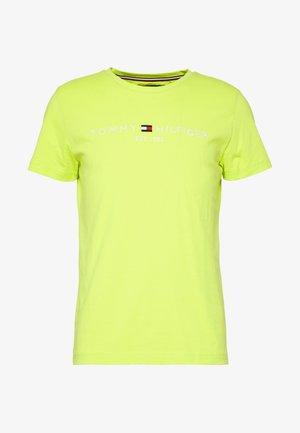LOGO TEE - T-shirt med print - green