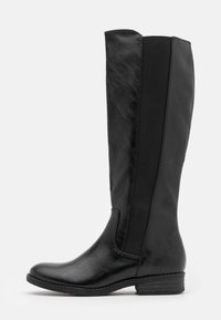 Marco Tozzi - Vysoká obuv - black antic - 1
