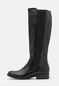 Vysoká obuv - black antic