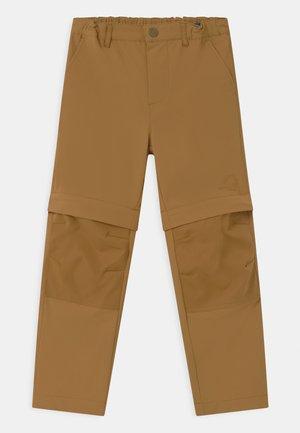 URAKKA MOVE 2-IN-1 UNISEX - Outdoor trousers - cinnamon