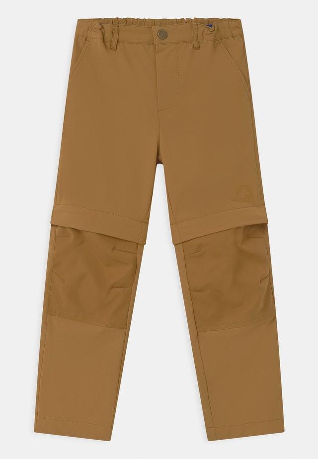URAKKA MOVE 2-IN-1 UNISEX - Outdoorové kalhoty - cinnamon