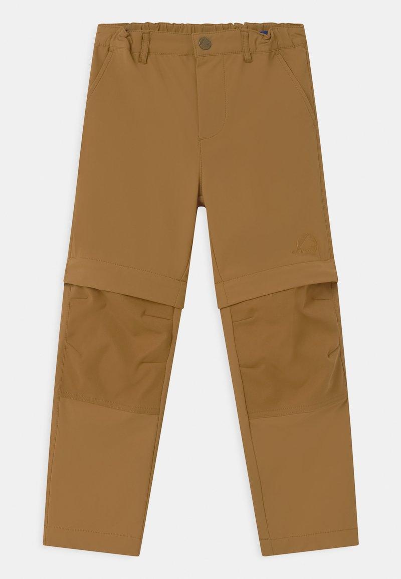 Finkid - URAKKA MOVE 2-IN-1 UNISEX - Outdoor trousers - cinnamon