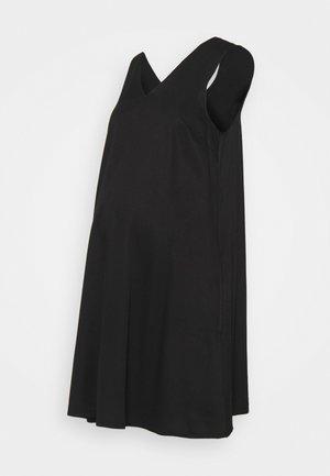 PCMTATYANA DRESS  - Day dress - black