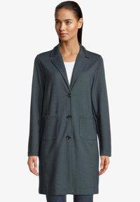 Betty & Co - Short coat - blau/weiß - 0