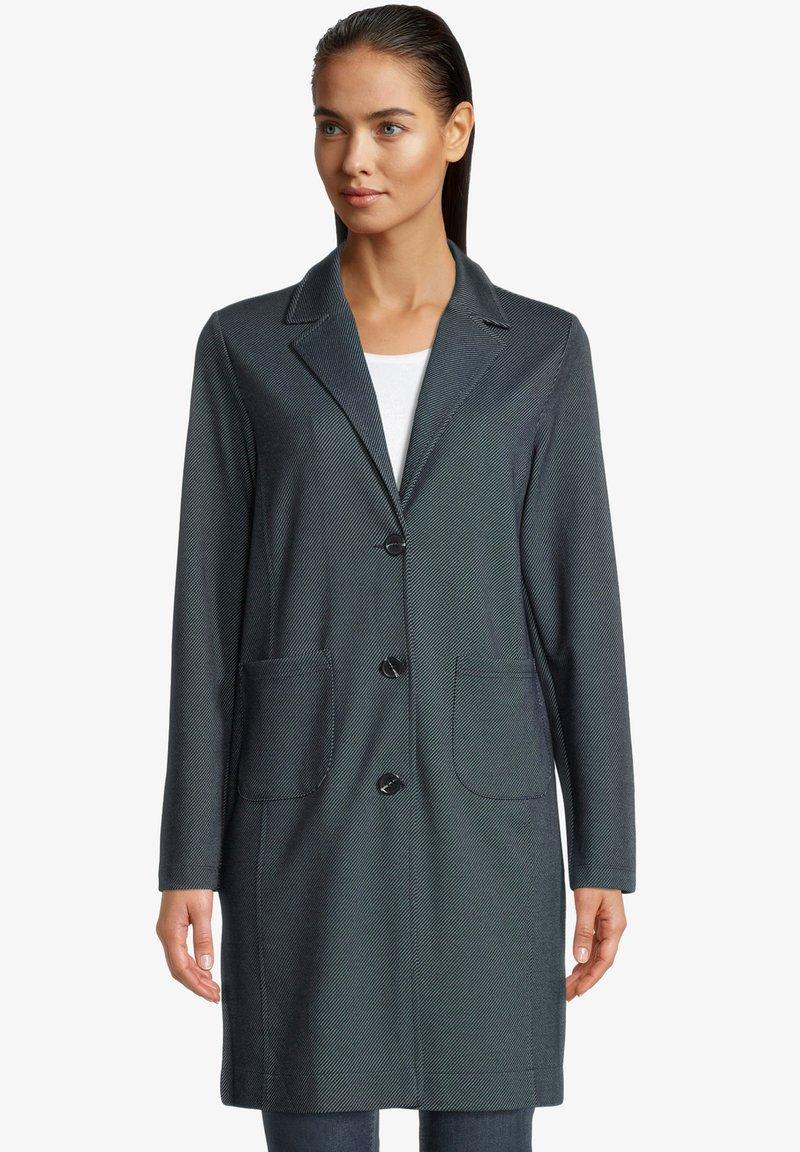 Betty & Co - Short coat - blau/weiß