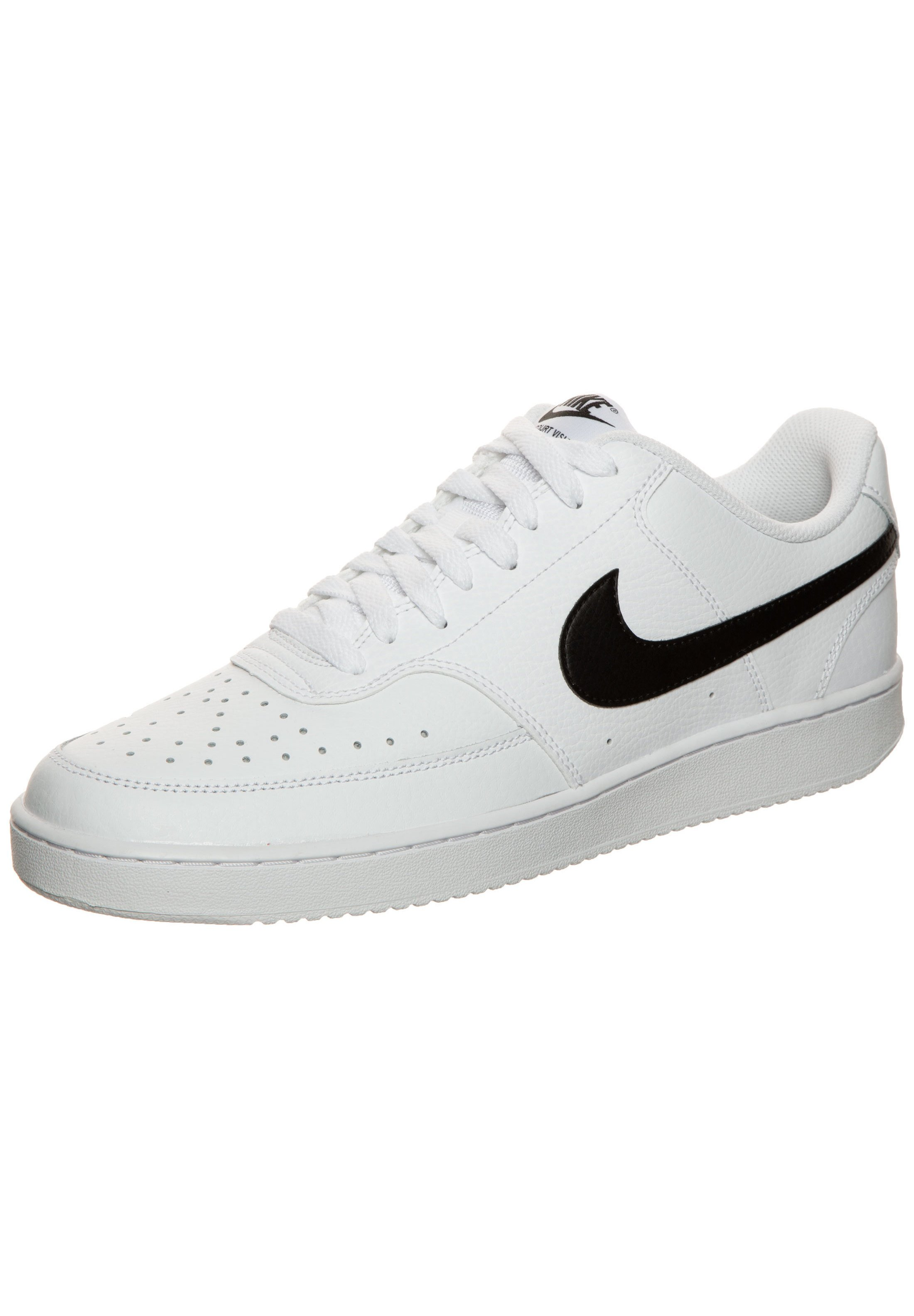 Nike Sportswear Sneaker low - white/black/white/weiß - Herrenschuhe 6g43O