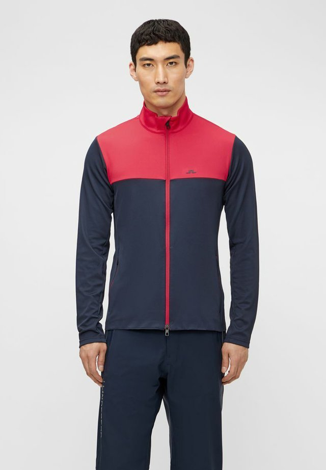 BANKS MID LAYER - Fleece jacket - red bell