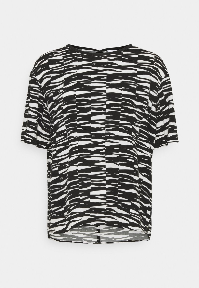 Calvin Klein - Blouse - black/ecru