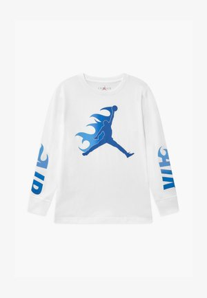 JUMPMAN FLAME - Longsleeve - white