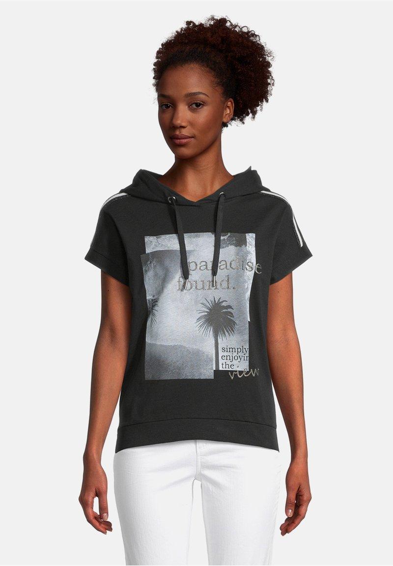 Cartoon - Print T-shirt - schwarz/grau