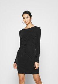 Vero Moda - VMAMIRA DRESS - Day dress - black - 0