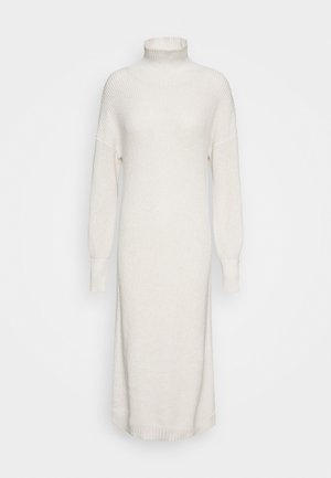 SCARLETT DRESS - Strikket kjole - egg white