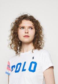 Polo Ralph Lauren - T-shirt z nadrukiem - white - 3