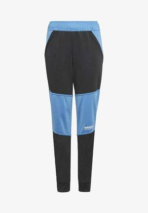 Tracksuit bottoms - black/blue