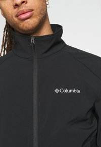 Columbia - HEATHER CANYON™ NON HOODED JACKET - Impermeable - black - 5