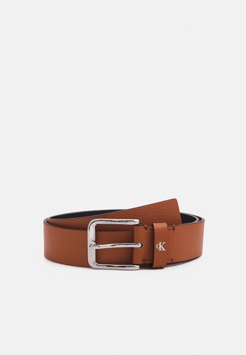 ROUNDED CLASSIC BELT - Pásek - brown