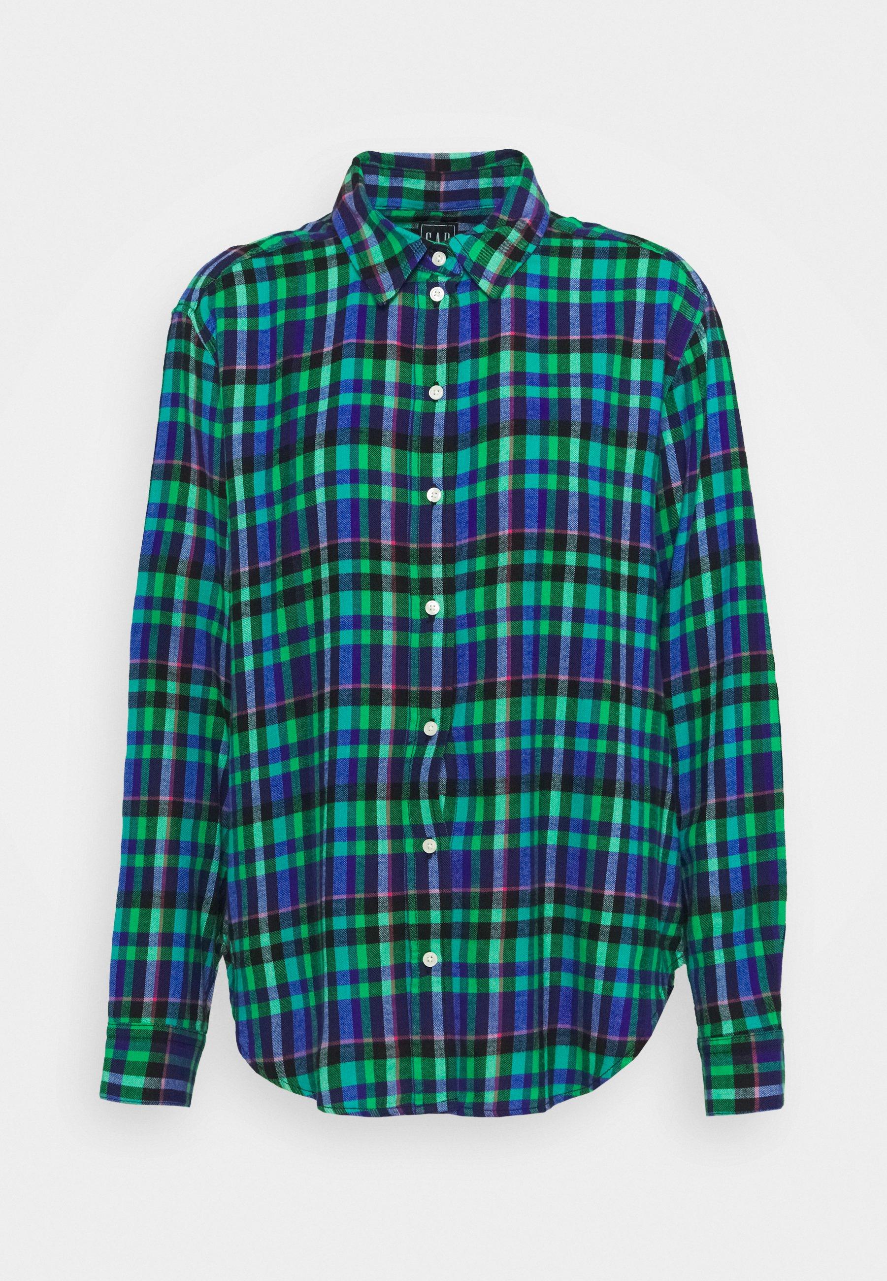 Women EVERYDAY - Button-down blouse - blue/green